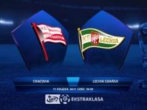 Cracovia Kraków - Lechia Gdańsk 2:1