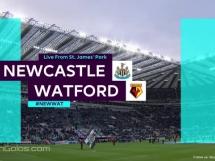 Newcastle United 0:3 Watford