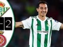 Betis Sewilla 2:2 Girona FC