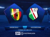 Korona Kielce 3:2 Legia Warszawa