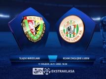 Śląsk Wrocław 1:0 Zagłębie Lubin