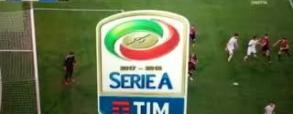 Czerwona kartka De Rossiego! Uderzył rywala!