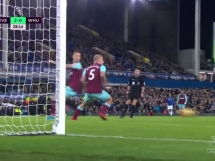 Everton 4:0 West Ham United