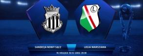 Sandecja Nowy Sącz 2:2 Legia Warszawa