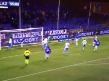Bereszyński wybił piłkę z linii!