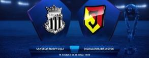 Sandecja Nowy Sącz 0:1 Jagiellonia Białystok