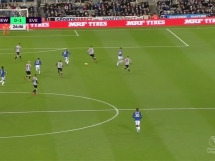 Newcastle United 0:1 Everton