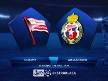 Cracovia Kraków 1:4 Wisła Kraków