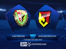 Śląsk Wrocław - Jagiellonia Białystok 1:0