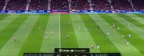 Atletico Madryt 1:0 Deportivo Alaves