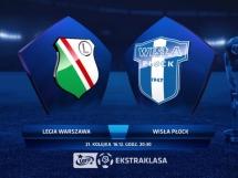 Legia Warszawa - Wisła Płock 0:2