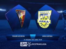 Pogoń Szczecin 1:0 Arka Gdynia