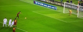 Arogancka jedenastka Perottiego! Bramkarz obronił!