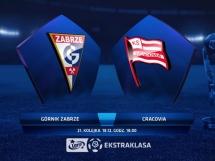 Górnik Zabrze - Cracovia Kraków 0:4