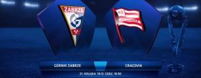 Górnik Zabrze 0:4 Cracovia Kraków