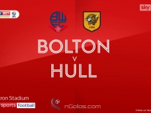 Bolton 1:0 Hull City
