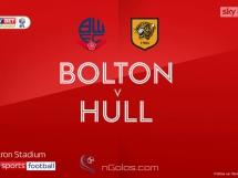 Bolton 1:0 Hull City