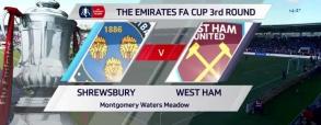 Shrewsbury Town 0:0 West Ham United
