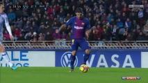 Wygrana Barcelony z Realem Sociedad [Filmik]