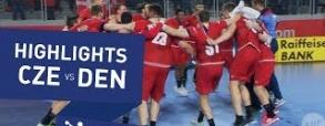 Czesi pokonali Duńczyków! Wygrali grając w czterech!