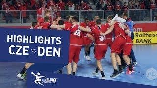 Czesi pokonali Duńczyków! Wygrali grając w czterech! [Wideo]