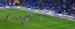Pudło Messiego z karnego przeciwko Espanyolowi!