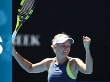 Elise Mertens 0:2 Caroline Wozniacki