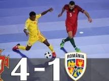 Portugalia 4:1 Rumunia
