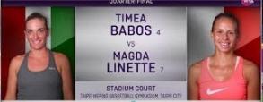 Timea Babos 2:0 Magda Linette