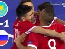 Kazachstan 1:1 Rosja