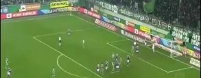Rapid Wiedeń 1:1 Austria Wiedeń