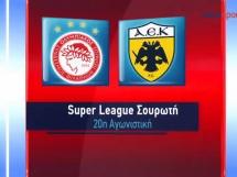 Olympiakos Pireus - AEK Ateny 1:2