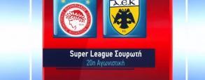 Olympiakos Pireus 1:2 AEK Ateny