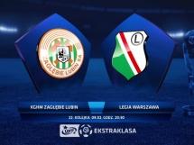 Zagłębie Lubin - Legia Warszawa 2:3