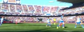 Malaga CF 0:1 Atletico Madryt