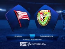 Cracovia Kraków - Śląsk Wrocław 2:1