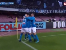 Zieliński strzela gola przeciwko Lazio!