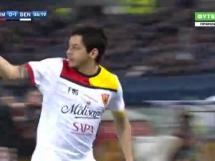 Bramka Guilherme przeciwko AS Roma!