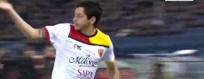 Guilherme strzela bramkę przeciwko Romie!