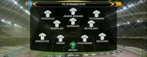 AEK Ateny 1:1 Dynamo Kijów