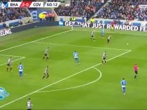 Brighton & Hove Albion - Coventry City 3:1