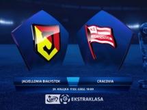 Jagiellonia Białystok - Cracovia Kraków 1:0