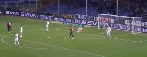 Kuriozalny samobój Ranocchia w meczu z Genuą!
