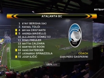 Atalanta 1:1 Borussia Dortmund
