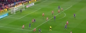Fenomenalny gol Coutinho z Gironą!