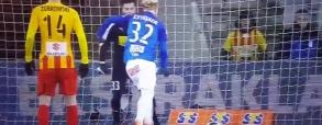 Alomerović broni rzut karny Gytkjaera w 94. minucie!