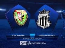 Śląsk Wrocław - Sandecja Nowy Sącz 0:0