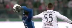 Fatalne zachowanie Jędrzejczyka w meczu z Lechem!