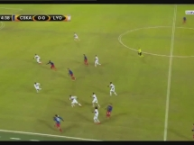 CSKA Moskwa 0:1 Olympique Lyon