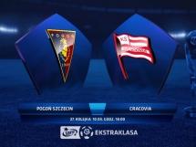 Pogoń Szczecin - Cracovia Kraków 0:3